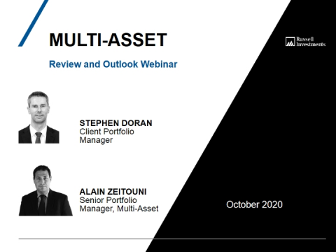 Multi-Asset Review and Outlook - October 2020