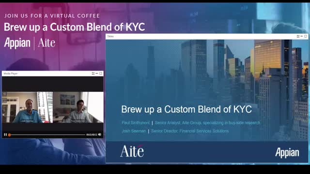 Brew up a Custom Blend of KYC with Aite and Appian