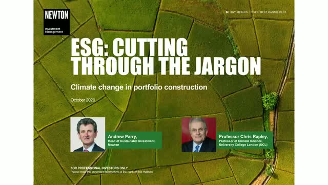 Virtual training – ESG: Cutting through the jargon – climate change (4)