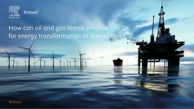 How can oil & gas teams prepare for energy transformation to renewables