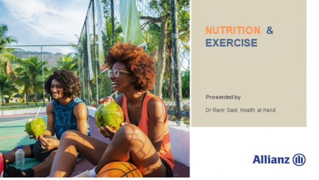 Nutrition and exercise – Eating right to fuel your workouts