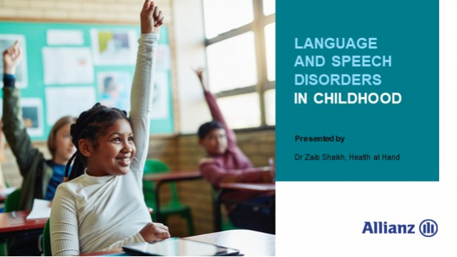 Language development and speech disorders in childhood