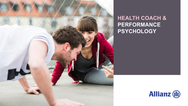 Health coach and performance psychology