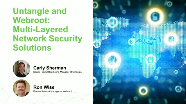 Untangle and Webroot: Multi-Layered Network Security Solutions