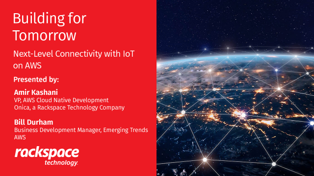 Building for Tomorrow: Next-Level Connectivity with IoT on AWS