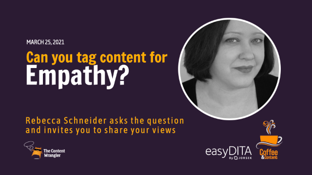 Coffee and Content: Can You Tag Content For Empathy?
