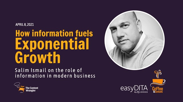 Coffee and Content: How Information Fuels Exponential Growth