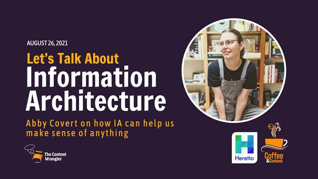 Let's Talk About Information Architecture with Abby Covert