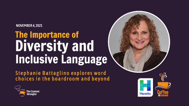 The Importance of Diversity and Inclusive Language