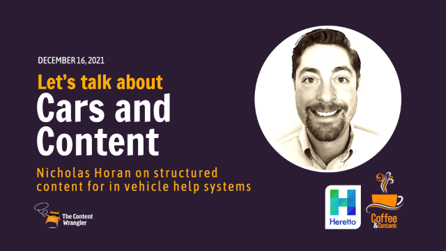 Cars and Content: Structured Content for In-Vehicle Help