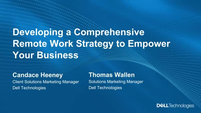 Empower your remote workforce for business continuity