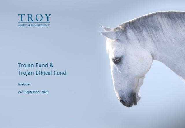 Trojan Fund and Trojan Ethical Fund Update