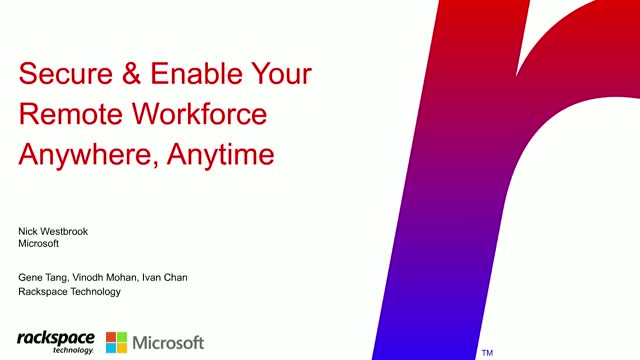 Secure & Enable Your Remote Workforce From Anywhere, Anytime