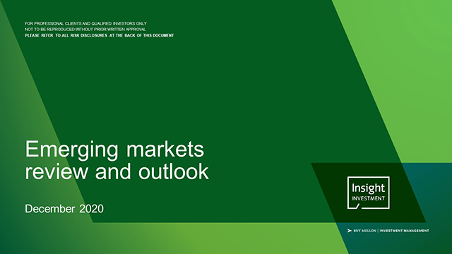 Emerging markets review and outlook | October 2020