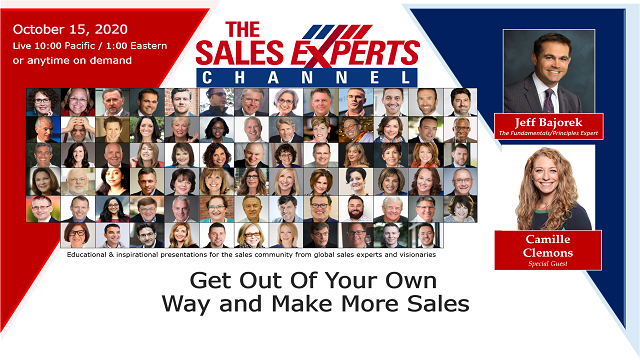 Get Out of Your Own Way and Make More Sales