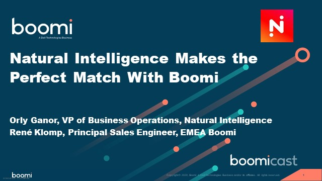 Natural Intelligence Makes the Perfect Match With Boomi