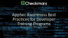 AppSec Awareness Best Practices for Developer Training Programs