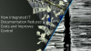 How integrated IT documentation reduces costs and improve control