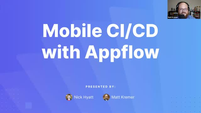Solving Mobile CI/CD With Appflow