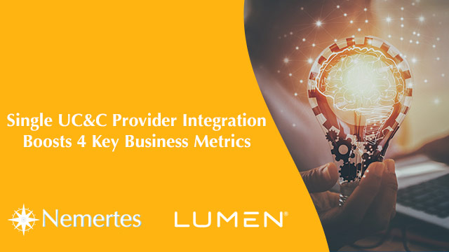 Single UC&C Provider Integration Boosts 4 Key Business Metrics