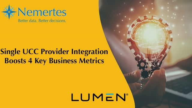 Single UCC Provider Integration Boosts 4 Key Business Metrics