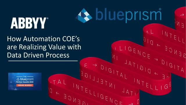 TEST 2: How Automation CoE's are Realizing Value with s Optimization