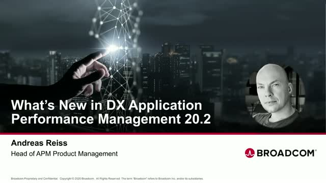 What's New in DX Application Performance Management 20.2