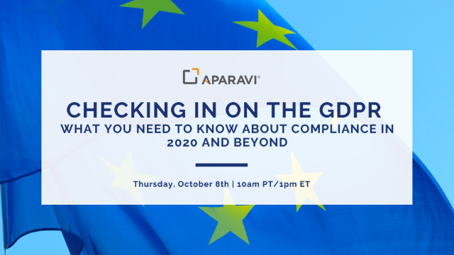 Checking in on the GDPR: What You Need to Know About Compliance in 2020 & Beyond