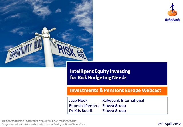 Intelligent Equity Investing for Risk Budgeting Needs