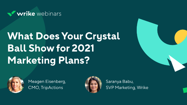 What Does Your Crystal Ball Show in 2021? Marketing Planning through Uncertainty