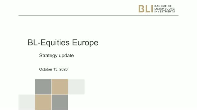 BL Equities Europe - 3rd quarter 2020 - Strategy Update