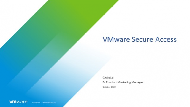 Deliver Better Remote Access with VMware SD-WAN Zero Trust Service