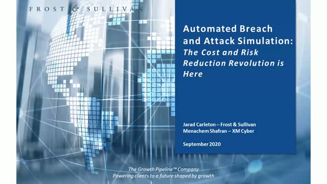 Automated Breach and Attack Simulation:  The cost and risk reduction revolution