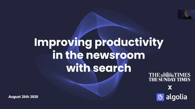 How The Times improves digital newsroom productivity with Algolia