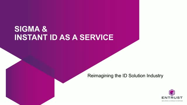 Next Generation Sigma Launch: Simple ID Card Printing