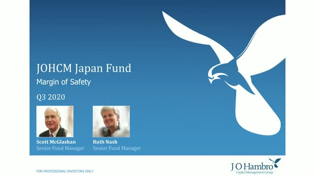 JOHCM Japan Fund Q3 2020 Update