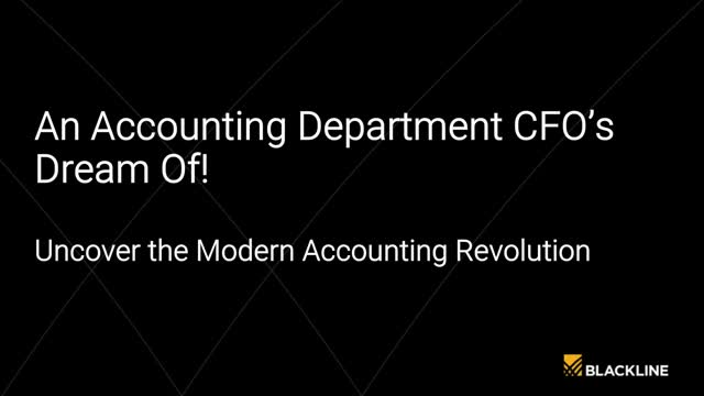 An Accounting Department CFOs Dream Of! Uncover the Modern Accounting Revolution