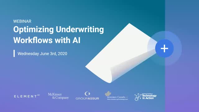 Optimizing the P&C Commercial Underwriting Workflow with AI