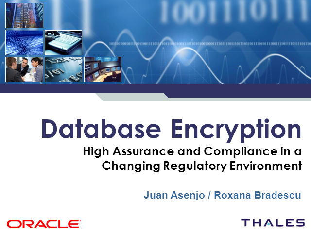 Ensuring Sustainable Compliance in a Changing Regulatory Environment - Oracle