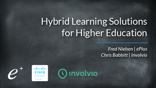 Hybrid Learning Solutions for Higher Education