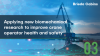 Applying new biomechanical research to improve crane operator health & safety