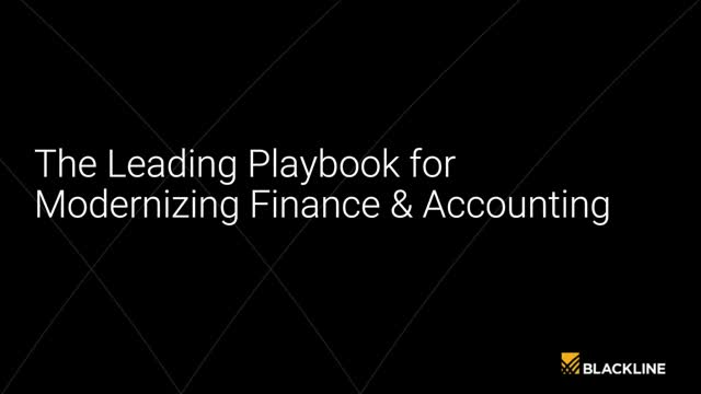 The Leading Playbook for Modernizing Finance & Accounting