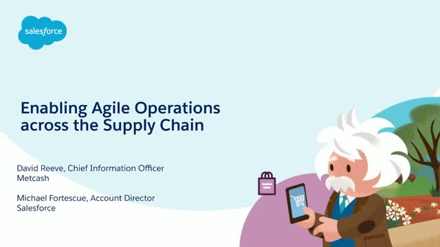 Enabling Agile Operations Across the Supply Chain