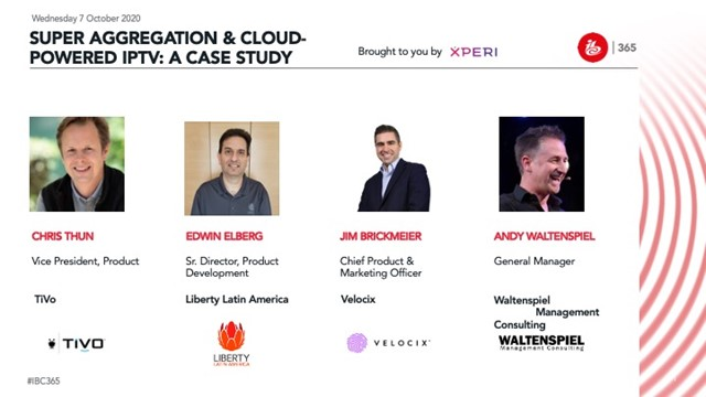 Super-Aggregation and Cloud-Powered IPTV: A case study