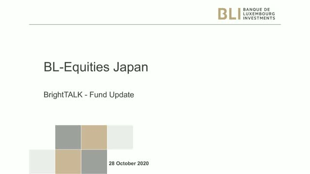 BL Equities Japan - 3rd quarter 2020 - Strategy Update