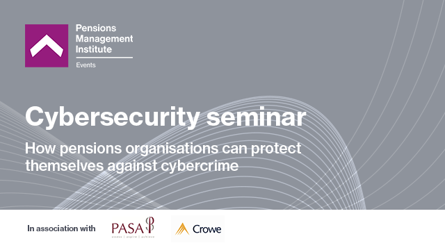 How pensions organisations can protect themselves against cybercrime
