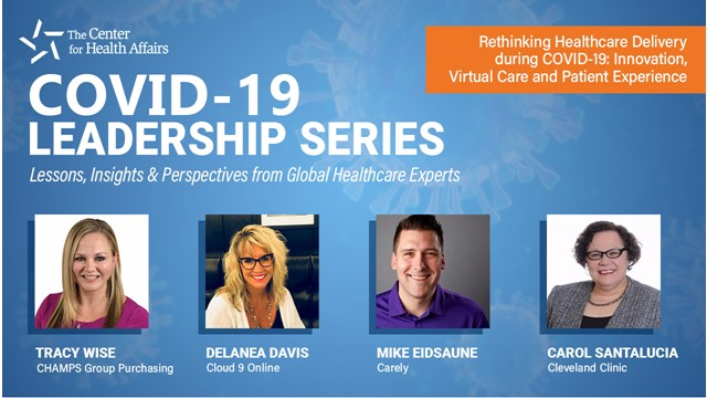 Rethinking Healthcare Delivery during COVID-19