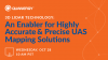 3D LiDAR: An enabler for highly accurate and precise UAS mapping solutions