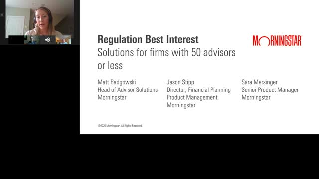 Regulation Best Interest - Solutions for firms with 50 advisors or less