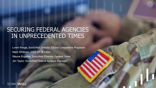 Securing Federal Agencies in Unprecedented Times